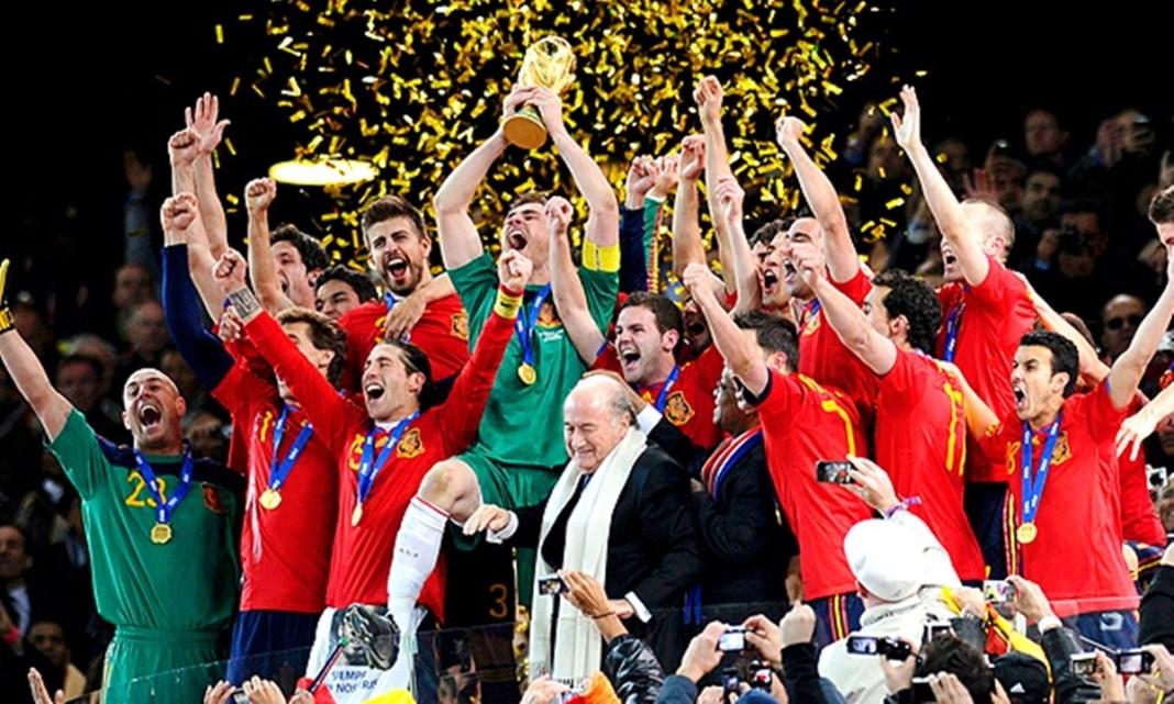 Copa do Mundo 2010, Trajetória da Campeã Espanha