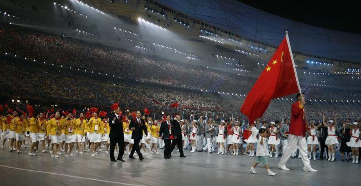 Eventos Esportivos de Maiores Audiências da História - jogos olímpicos de Pequim