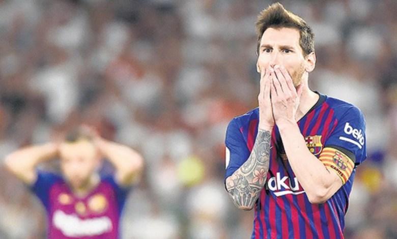 Messi Chega a Marca dos 700 Gols mas Barça Fica no Empate