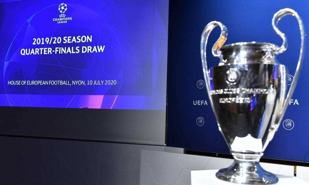 Quarta de Finais Champions League 2020, Veja os Confrontos!
