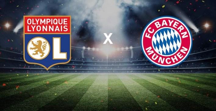 Foto/Reprodução: Lyon x Bayern.