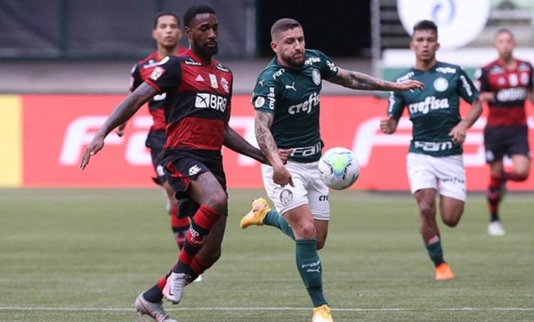 Com Muitas Polêmicas, Palmeiras x Flamengo Ficam no Empate