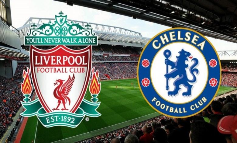 Imagem/Reprodução- Liverpool x Chelsea.