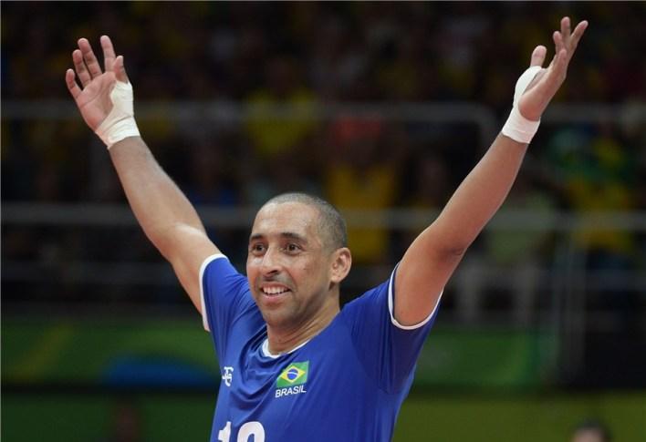 Serginho terceiro maior medalhista olímpico brasileiro de todos os tempos