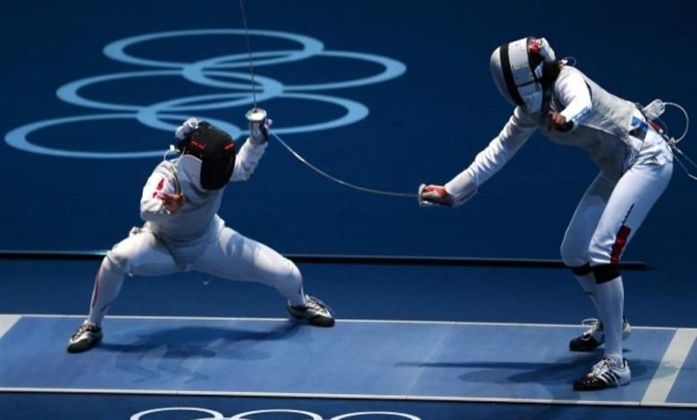 Esporte Olímpico - Esgrima.