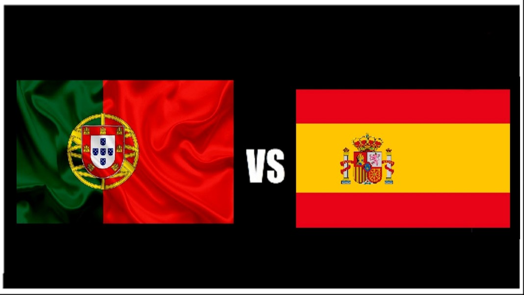Divulgação - Jogo entre Portugal e Espanha em 07 de outubro.
