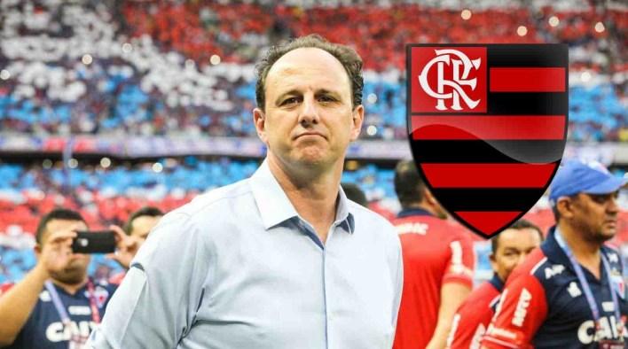 Rogério Ceni é o novo técnico do Flamengo.