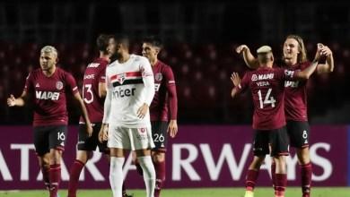 São Paulo é eliminado da Sul Americana mesmo após virada de jogo contra Lanús nessa quarta feira