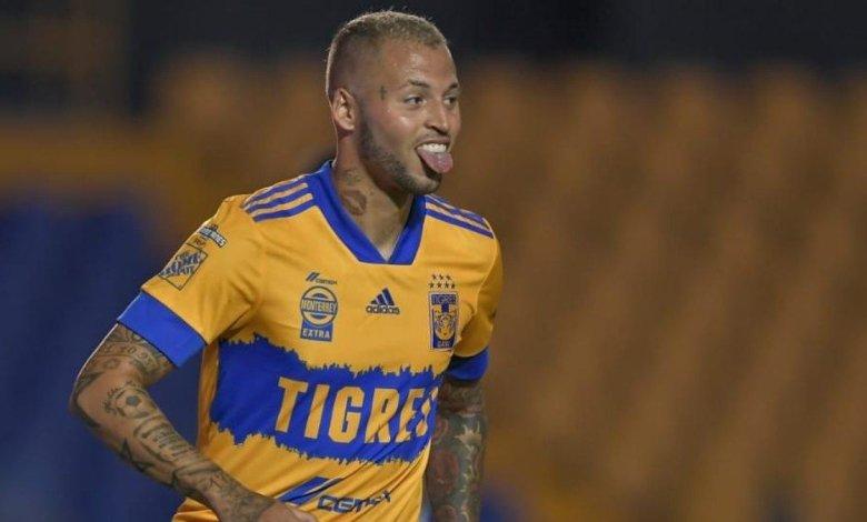 Nico López jogando pelo Tigre / Reprodução - Twitter.