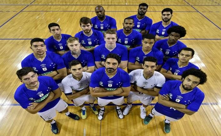 Equipe de Volei do Cruzeiro