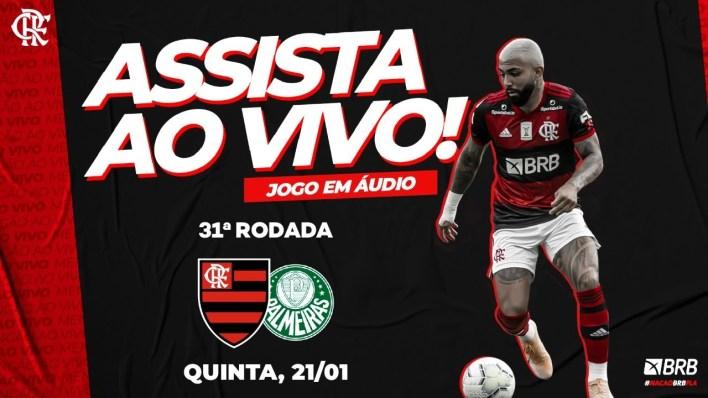 FlaTV, Flamengo x Palmeiras