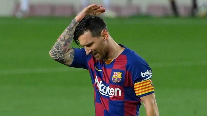 Lionel Messi Triste, Ei Sports