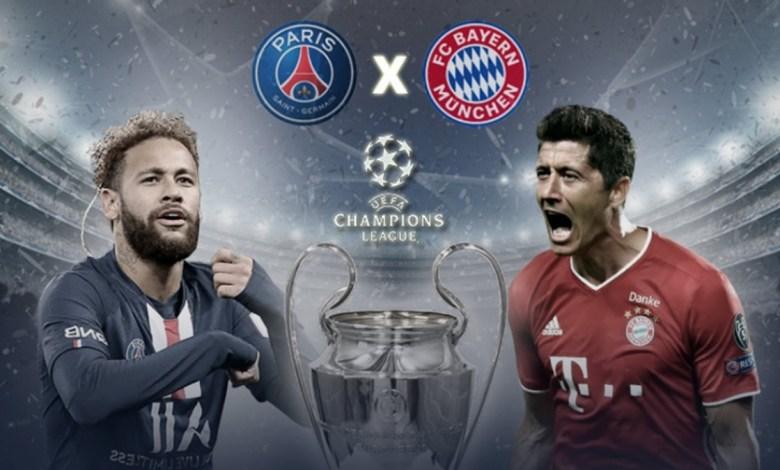 Quartas de Finais da Champions 20/21 Terá Bayern x PSG, Veja!