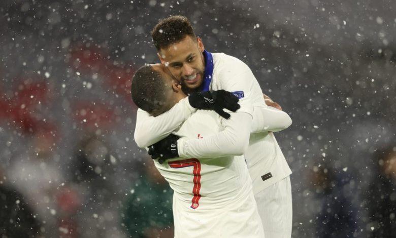 Neymar e Mbappé são decisivos na vitória do PSG contra o Bayern