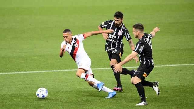 Corinthians 0 x 1 Atlético-GO - Rodada 1 Brasileirão 2021
