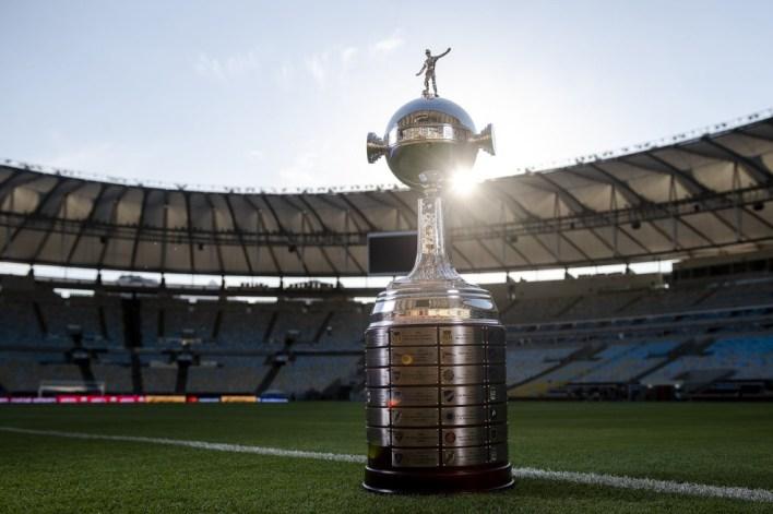 Taça Libertadores Maracanã — Foto: Conmebol