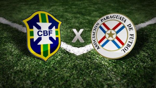 Brasoes, Brasil e Paraguai.