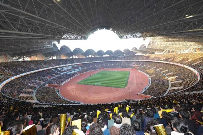 1. Estádio Rungrado Primeiro de Maio