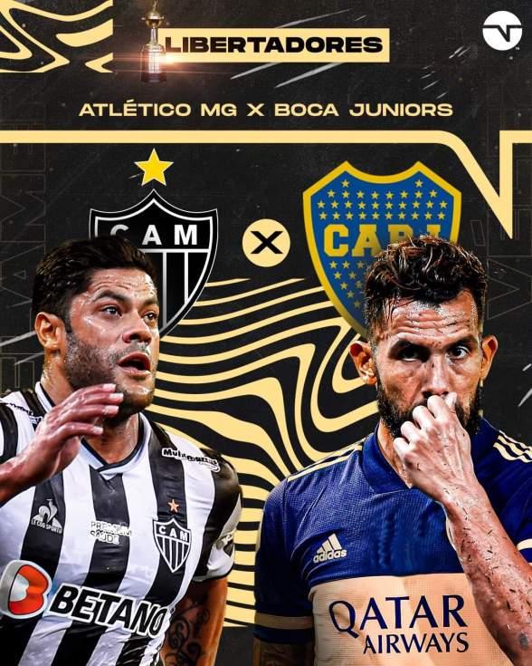 Boca Juniors x Atlético-MG