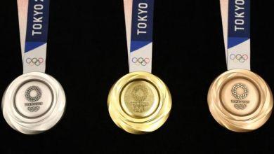 Valor ganho por medalha por cada atleta.