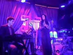 With Danielle Illario at Blue Note - Jazz/RnB/Soul