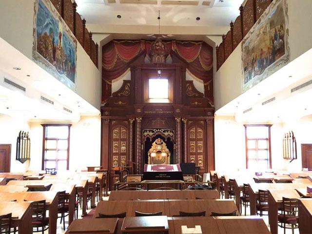 synagogue design NYC