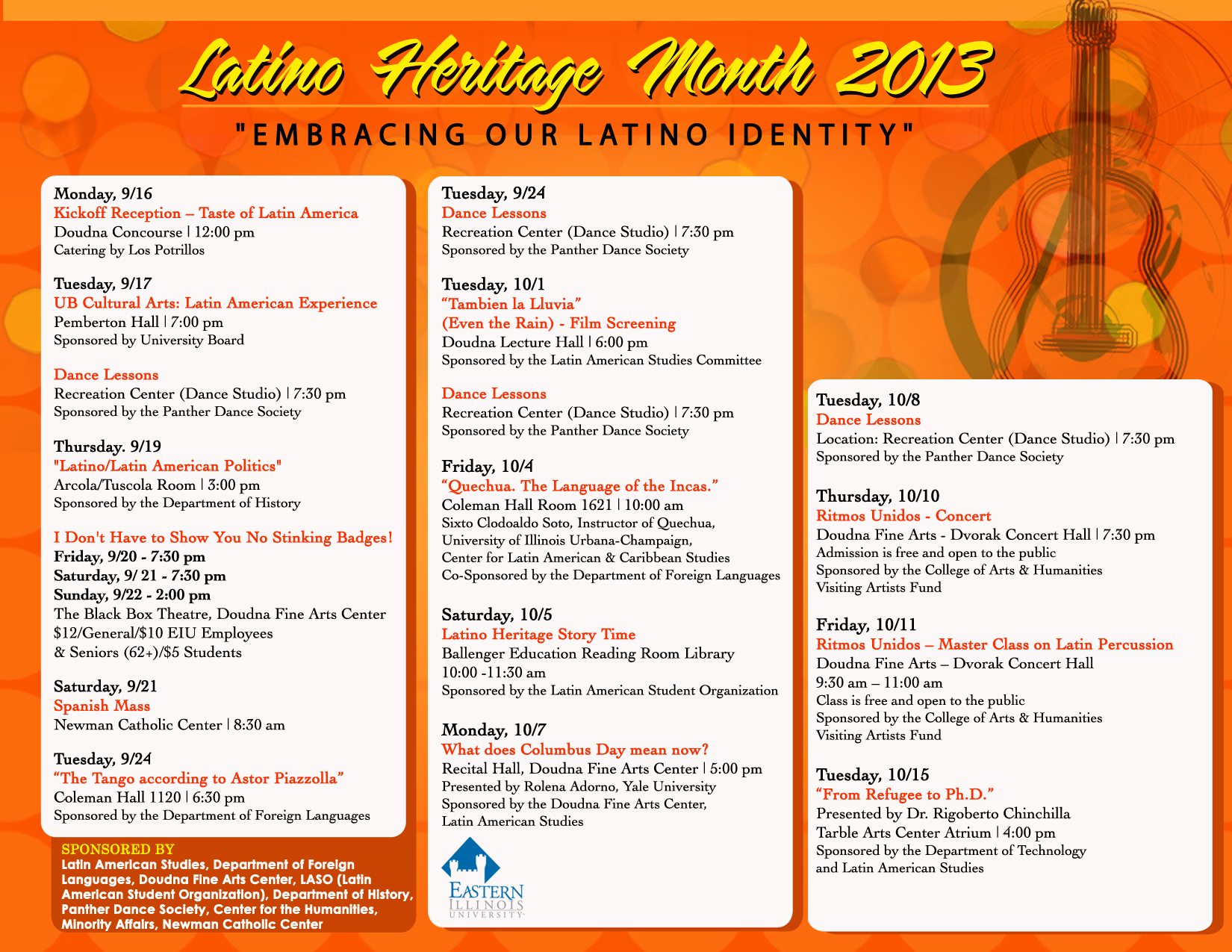 Latino A Heritage Month