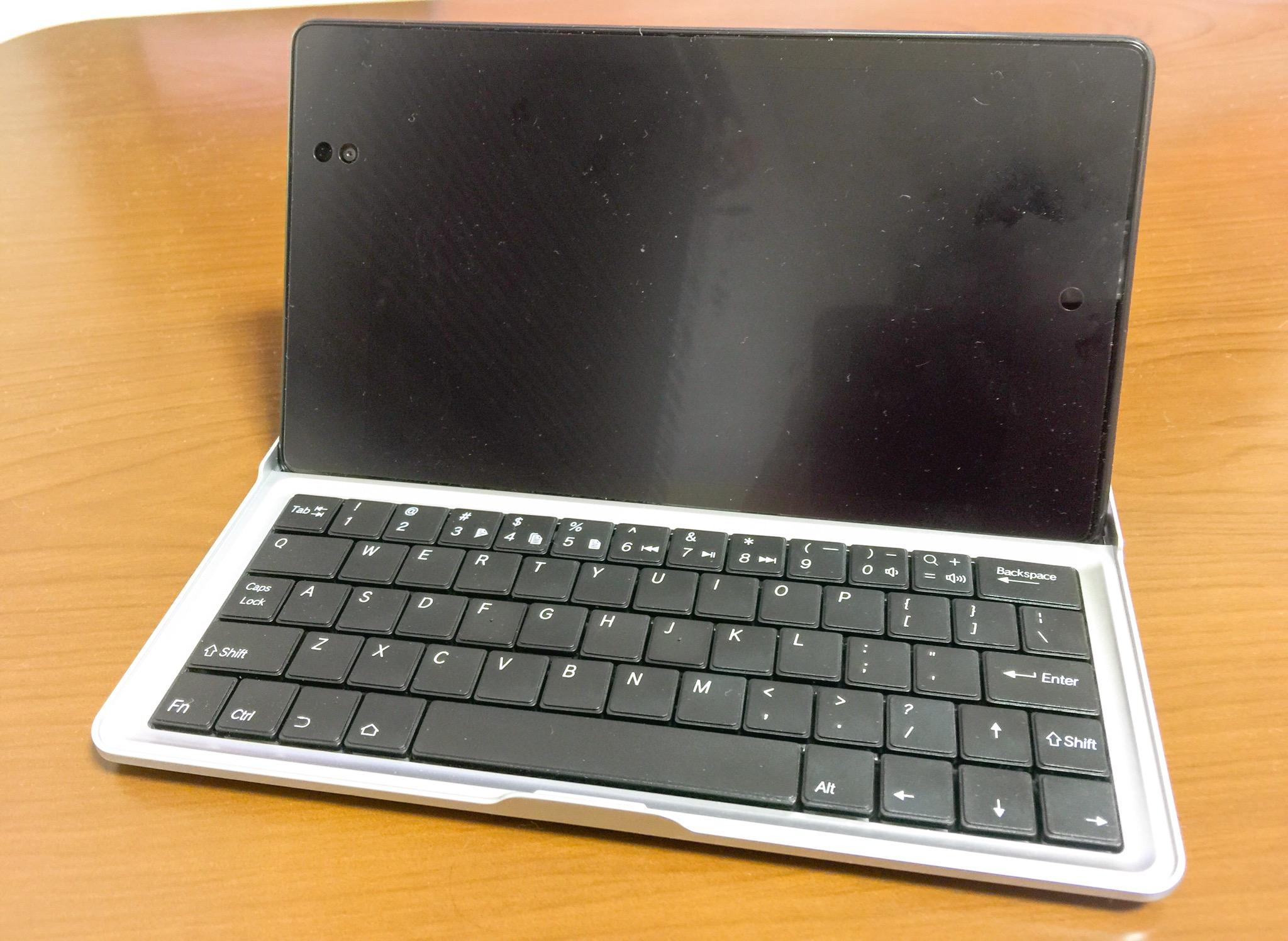 Nexus7にbluetoothキーボードを加えるだけで使い勝手が良すぎる件