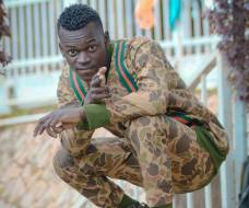 Fresh Kid's Writer also a Rapper 14K Bwongo