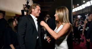 Brad Pitt Reunites With Jen Aniston… for Dane Cook's Fast Times at Ridgemont High Charity Reading
