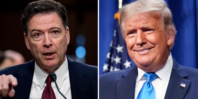 Donald Trump Ripped Anew By James Comey On RNC Night 1; Ex-FBI Boss On Cable News As Showtime's 'Comey Rule' Debuts Next Month