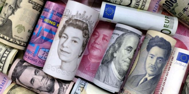 Dollar bides time ahead of ECB, Brexit woes hit sterling