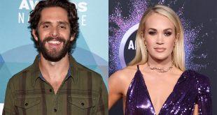Fans upset over Carrie Underwood, Thomas Rhett's 2020 ACM Awards entertainer of the year tie