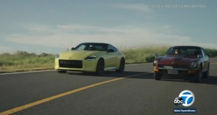 New Nissan Z sports car pays tribute to original Datsun 240Z -TV