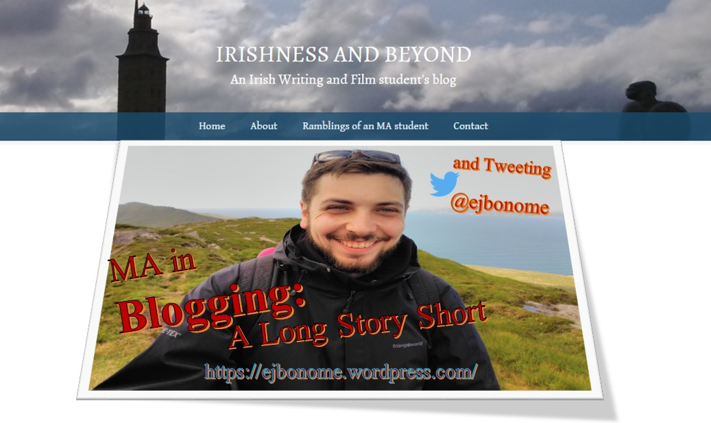 MA in Blogging: A Long Story Short