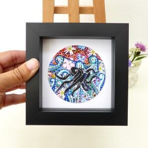 Octopus painting by Larryware