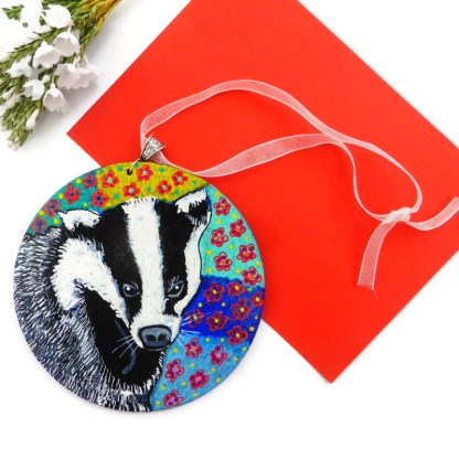 Badger painting by Larryware
