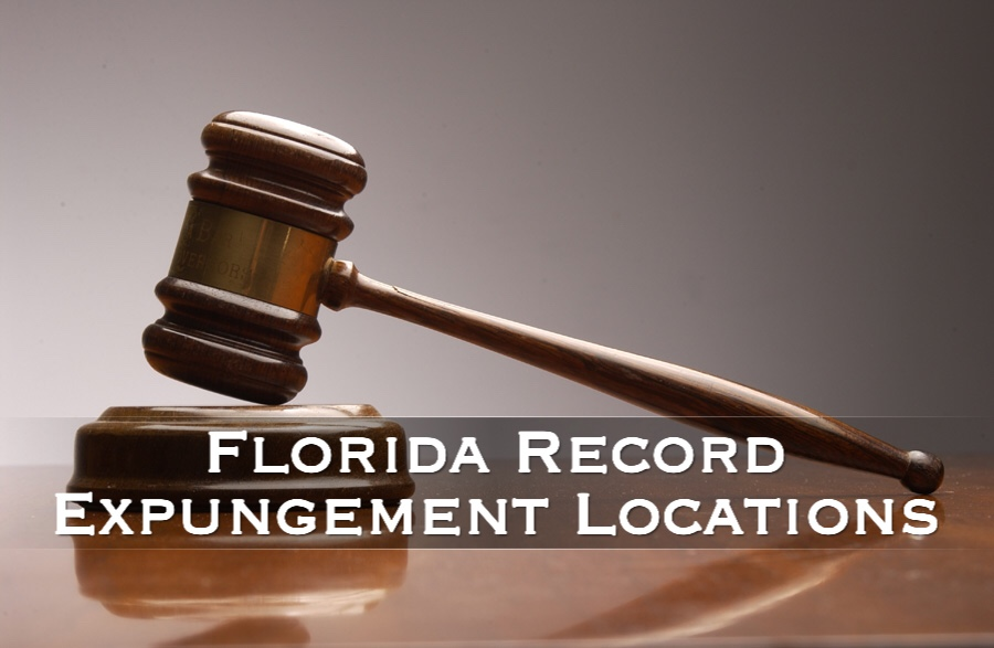 florida record expungement locations