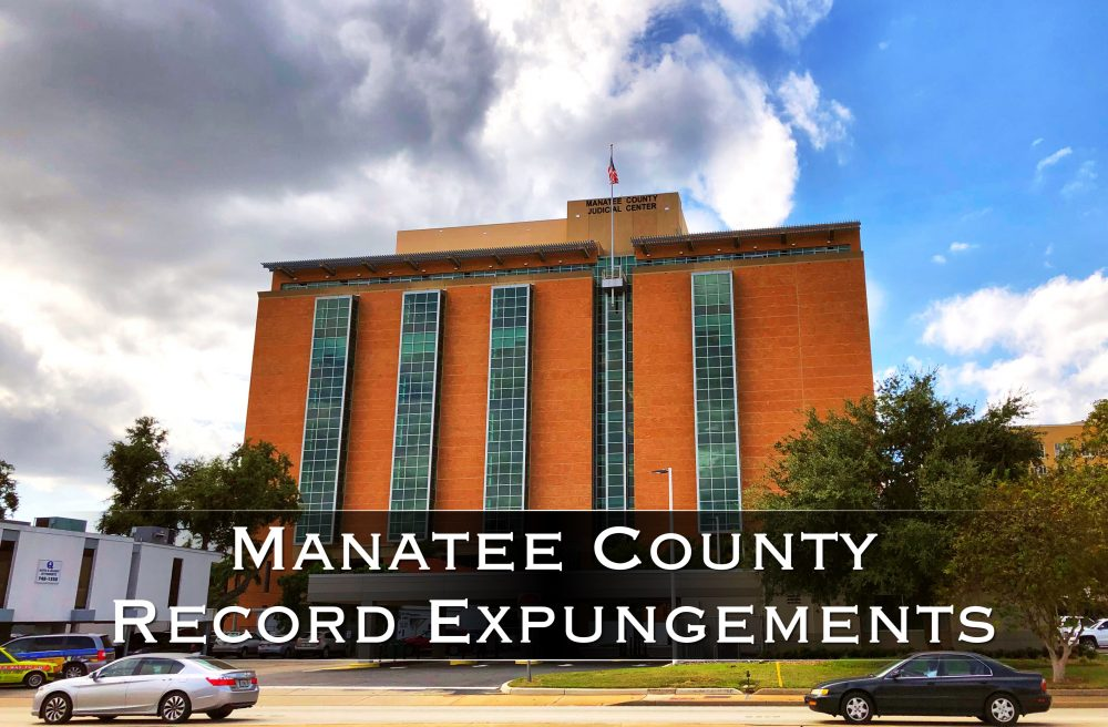 manatee county record expungements