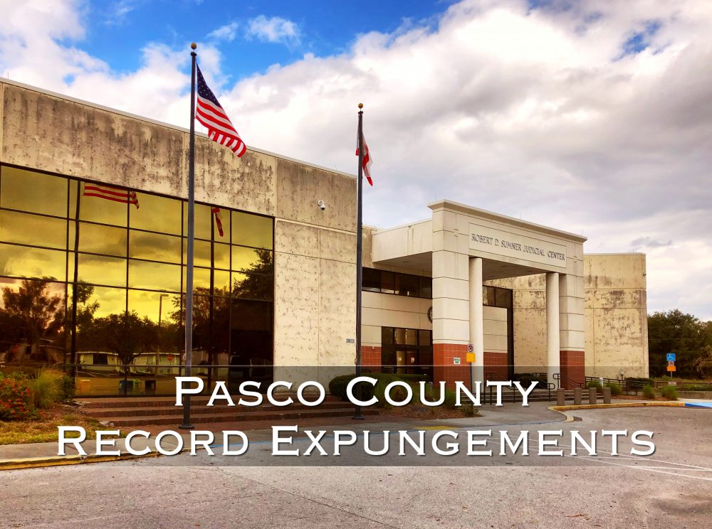 pasco county record expungements