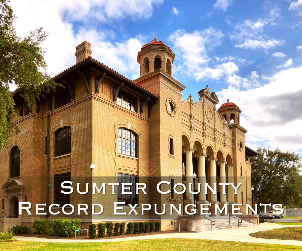 sumter county record expungements
