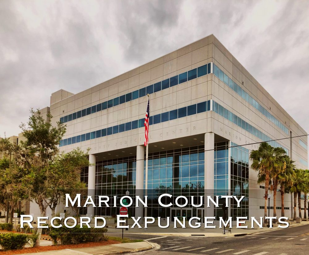 Marion County Record Expungements