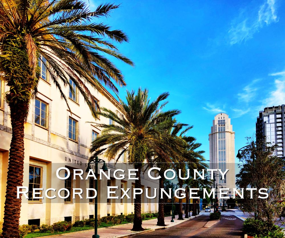 orange county record expungements