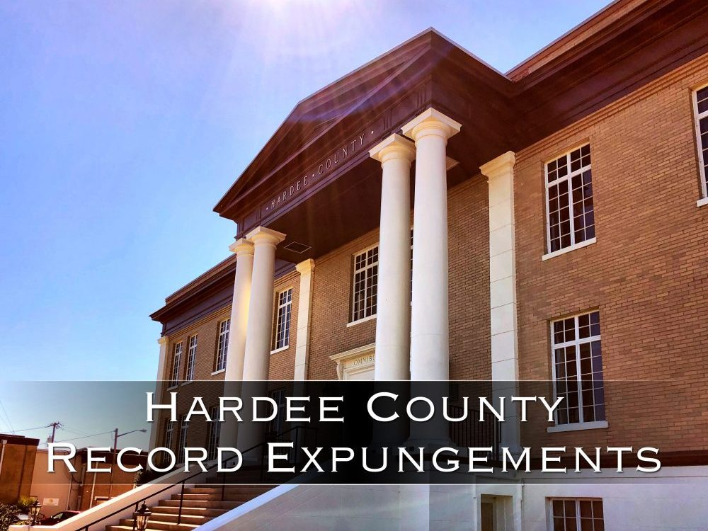hardee county record expungements