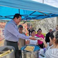 Más de 30 mil personas asisten a la Feria del Tamal y el Atole en Neza