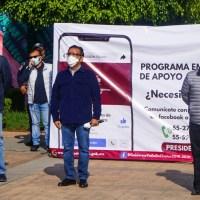 En Valle de Chalco inicia el Programa Emergente de Apoyo Alimentario a personas vulnerables
