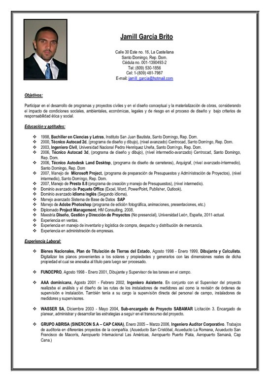 ejemplo de curriculum vitae ejecutivo de ventas great resume writing