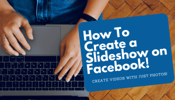 how to create a slideshow on facebook