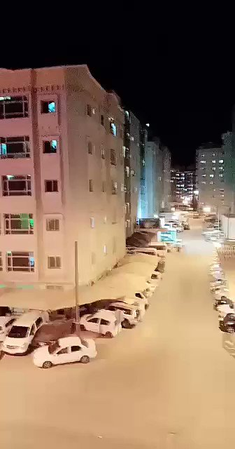 Video: Sky Coming Down In Kuwait