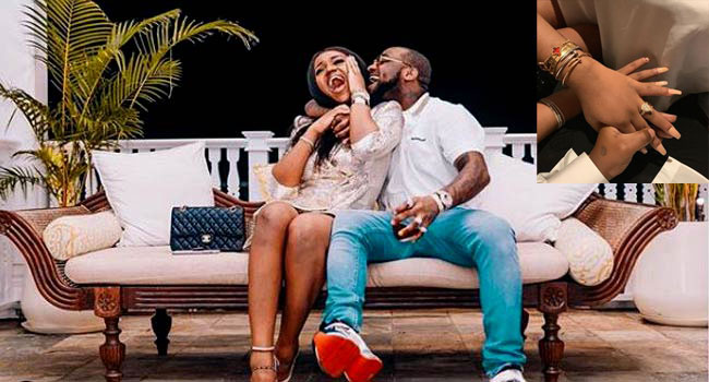 BREAKING: Davido's Fiancee, Chioma Recovers From COVID-19